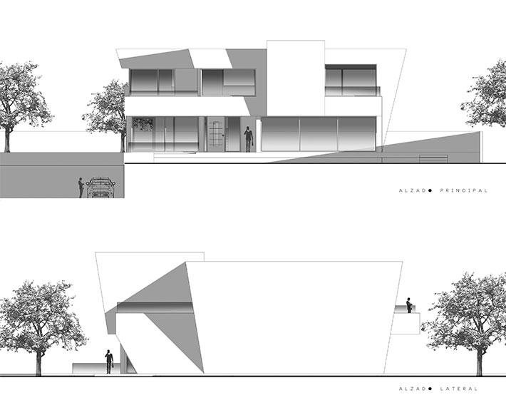 Alzado 1 estudio3 arquitectos - Alzado arquitectura ...